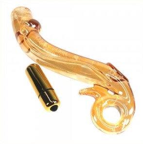 G-spot Vibration Glass Dildo