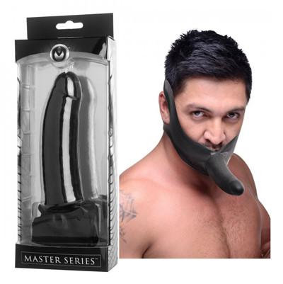 Masters Series... Face Fuk Strap On Mouth Gag