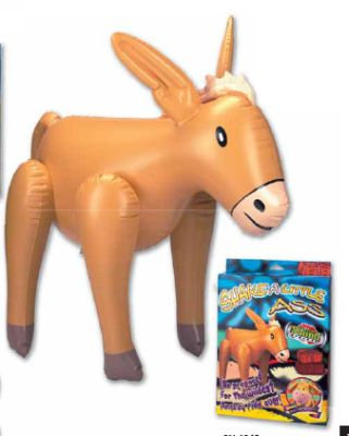 Inflatable Donkey With Voice