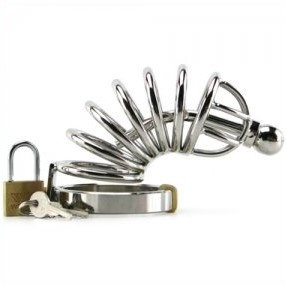 Six Ring Chastity Cage
