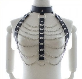 Open Breast Body Harness