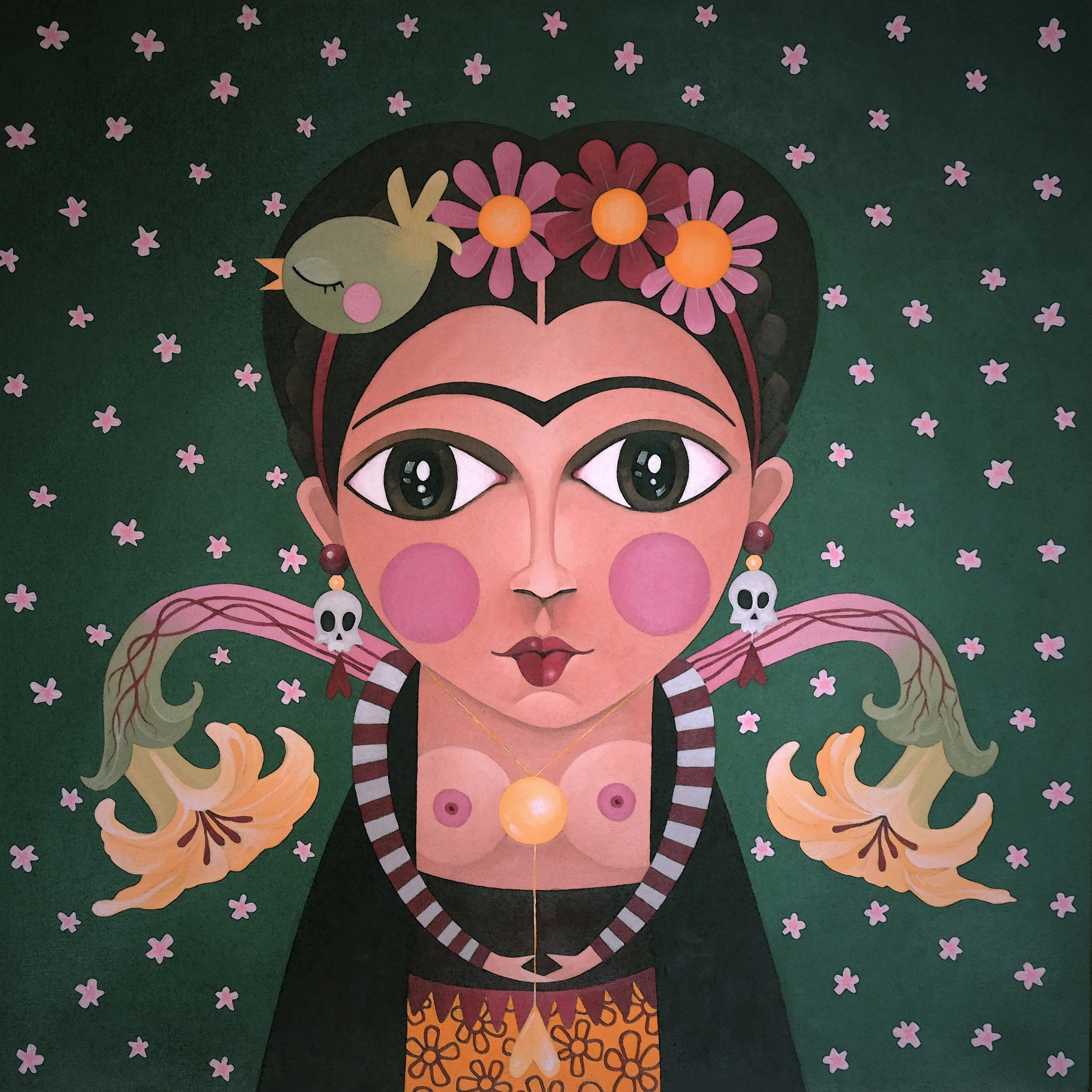 Tiny-portraits: Frida.