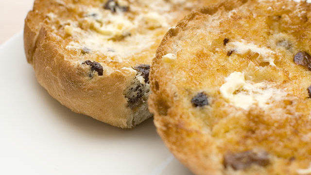 Toasted Tea Cake