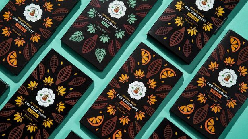 Cheerful Buddha Chocolate