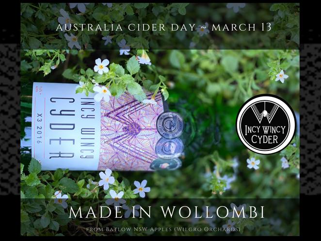 March 13th - Australia Cider Day 2021