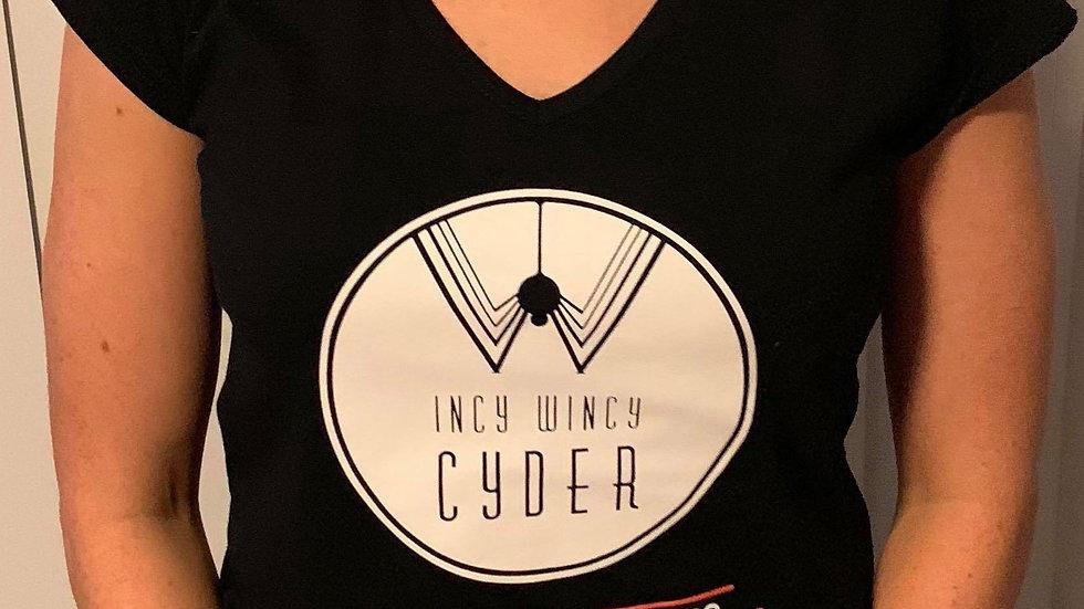 T Shirt Ladies - V Neck