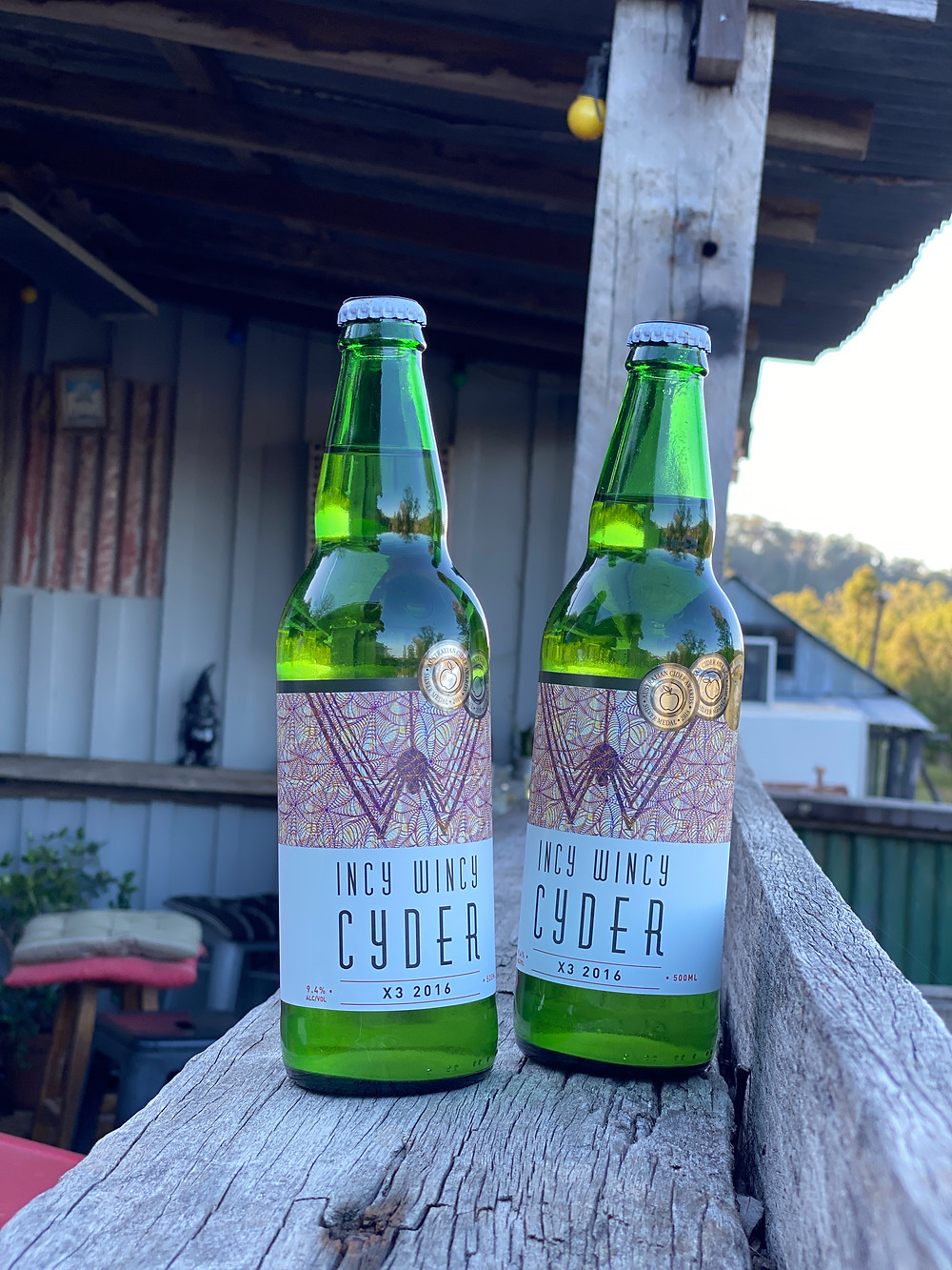 Cider at Great Northern Trading Post in Laguna
