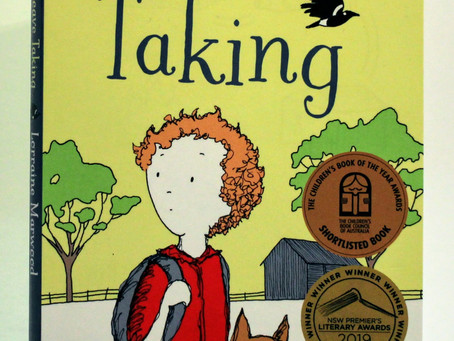Leave Taking - Lorraine Marwood CBCA Shortlist 2019