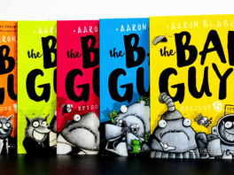 The Bad Guys #1 - #5 - Aaron Blabey