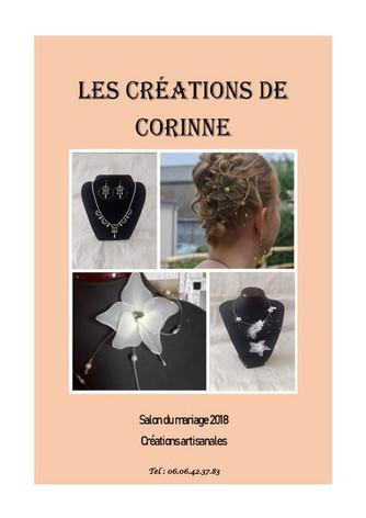 LES CREATIONS DE CORINNE