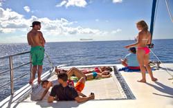 Relax en al Catamaran