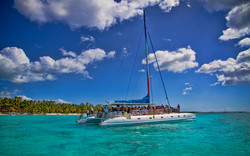 Catamaran a la Isla Saona