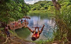 Tarzan jump