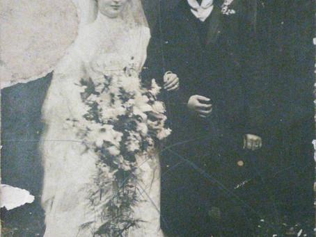 Raye and Maurice Katz – a newly discovered wedding photo
