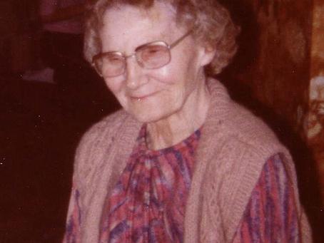 Mary Elizabeth Ellen (Nellie) Wheeldon