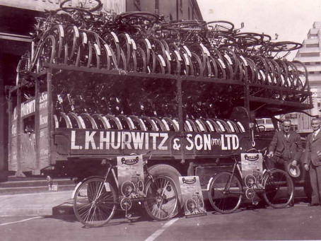 LK Hurwitz and the Raleigh Cycle Co. Ltd