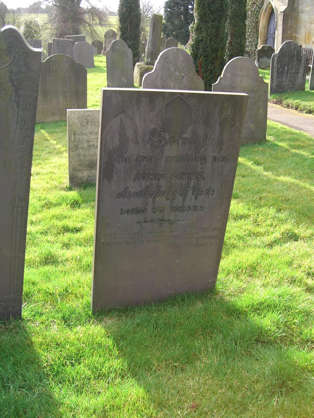 john sims grave Bradley.JPG