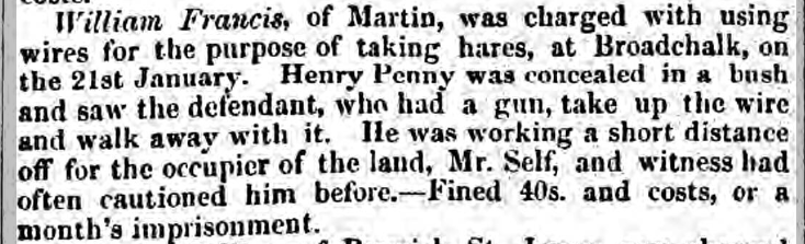 henry penny salisb and winch jnl 5 feb 1853
