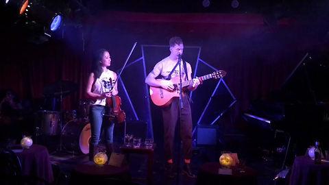 """Little Worm"" at Manderley Bar, NYC 09/27/17 (with Amanda Lo)"