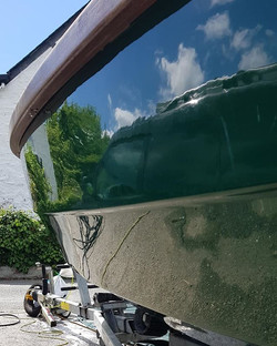 Full washedown and machine polish today