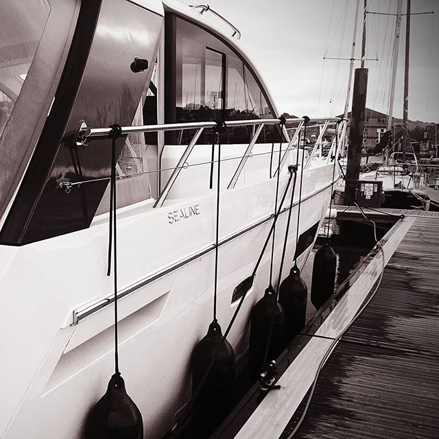 Monthly maintenance valet in progress today__www.boatvaletingcornwall.co