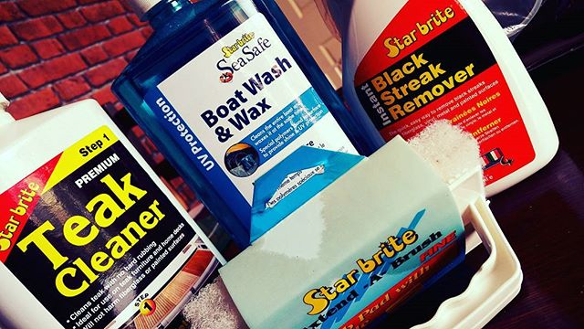 A few product needed for this week's Marine Gold Valet. _#boatvaleting #yacht #sailing #boat #falmou