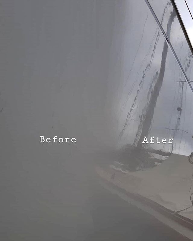 Progress being made today. _#boatvaleting #marinedetailing _#valeting #Falmouth _www.boatvaletingcor