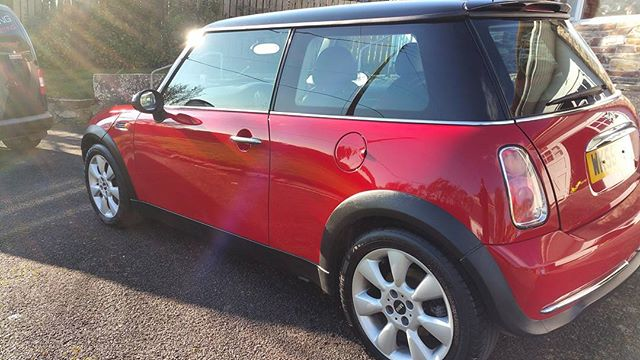 Pre sale valet completed today _#miniadventure #mobilevaleting covering #mullion #falmouth #helston