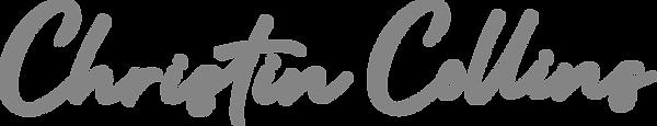 Christin Collins logo grey.png