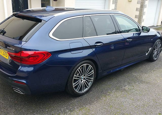 A lovely BMW polished and protected_#bmw #wax #protection #mobilevaleting covering #mullion #falmout