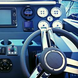 Instagram - Cockpit of a Sealine S450 #yacht #powerboat #sealine #boatvaleting #