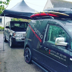 A wet Monday moring in #cornwall but work must go on_#mobilevaleting covering #mullion #falmouth #he
