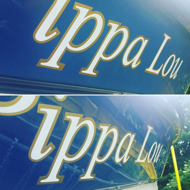 Putting the shine back on Pippa Lou_#cornwall #falmouth #truro #yacht #sailing #boat #marina www.boa