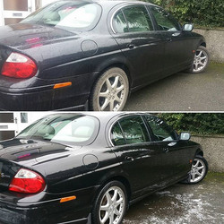The difference a Bronze Valet can make._#jaguar_www.northvaleting.co