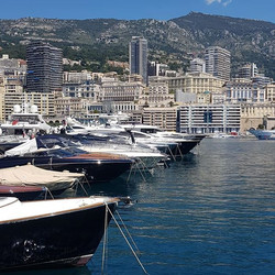 Some views in Monaco_#superyacht #monaco