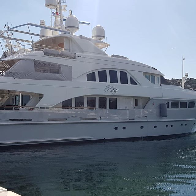 Superyacht spotting today_#yachts #super