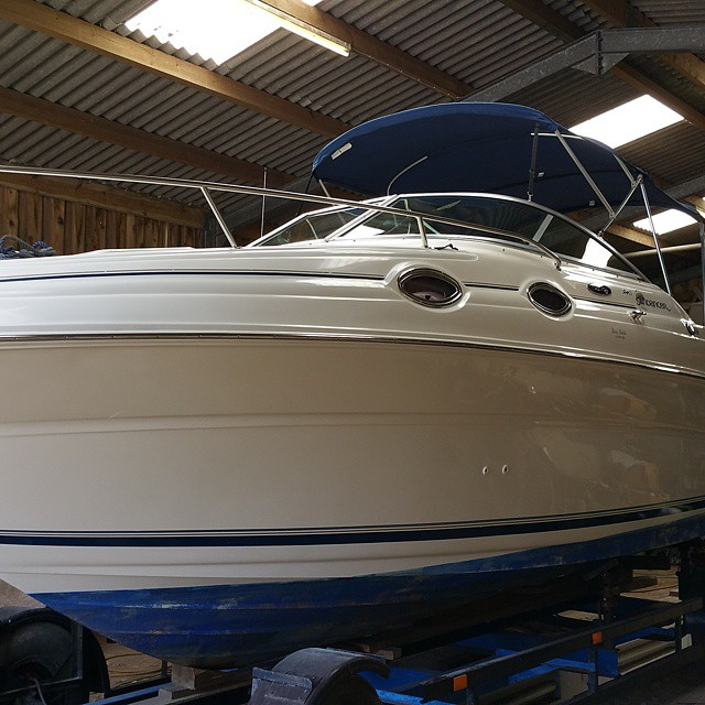 Instagram - Full polish completed  #marine #mobilevaleting #boatvaleting #yacht