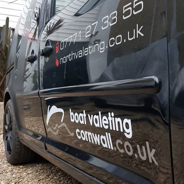 A bit more branding on the works van and