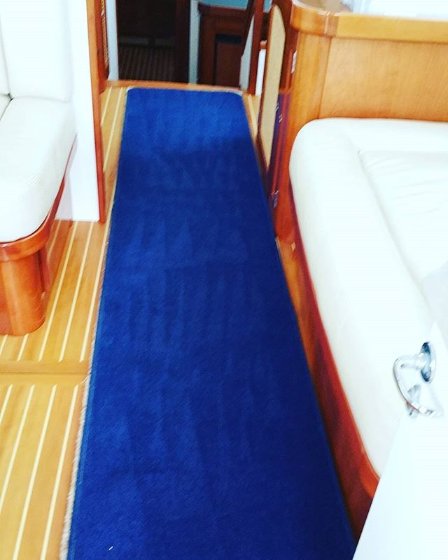Full exterior and interior valet on a Nelson Classic _#boatvaleting #yacht #sailing #boat #falmouth