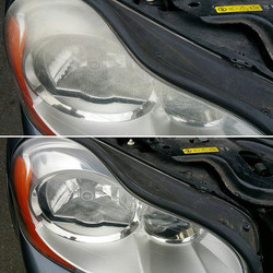 Headlight restoration available _For more info please visit www.northvaleting.co