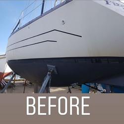 👉👉👉👉👉👉👉👉👉👉👉_Exterior valer and machine polish hull. _Ready for the season. _www.boatvalet