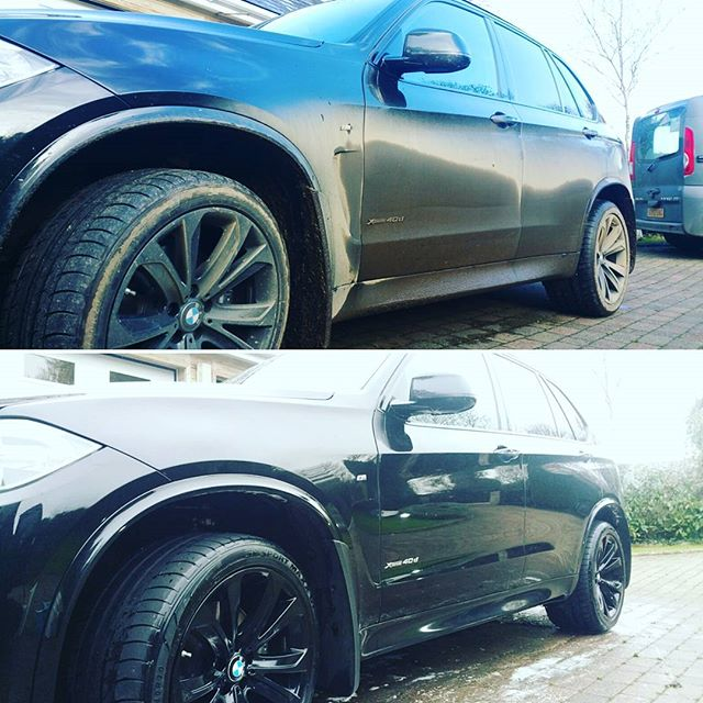 BMW looking better after its monthly maintenance valet_#mobilevaleting covering #mullion #falmouth #