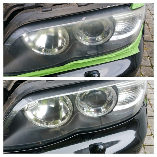 Instagram - Headlight restoration available @northvaleting