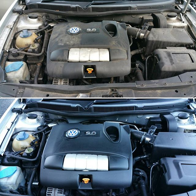 Engine Bay clean Completed today _www.northvaleting.co