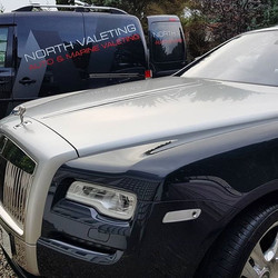 A bronze valet with wax applied to this