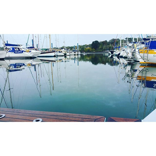 Final monthly valet before the winter_#falmouth #boatvaleting #boatowner #boats #yacht _www.boatvale