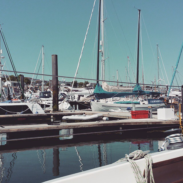 Instagram - Office for today  #falmouth #marina #cornwall #office #boatvaleting