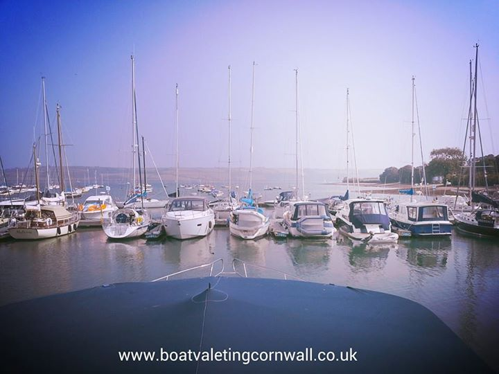 Facebook - Its a hard life boat valeting in cornwall  www.boatvaletingcornwall.c