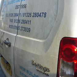 Today a  builders van that needed a bit of work. _#mobilevaleting #buildersvan _www.northvaleting.co