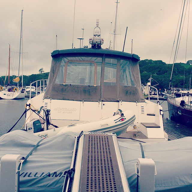 Instagram - Waiting for the rain to stop  #cornwall #falmouth #rain #boatvaletin